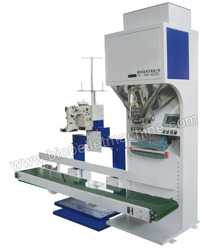 palm kernel shell pellet packing machine