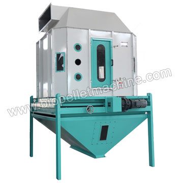 palm kernel shell pellet cooler