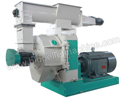 palm kernel shell pellet machine