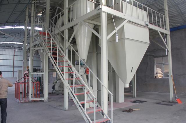 pine wood pellet production line